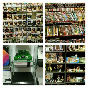 Games, Consoles, and Toys